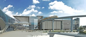 3д визуализация аэропорта Домодедово