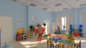 Игровая комната детского сайта