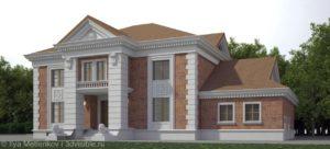 3D визуализация усадьбы