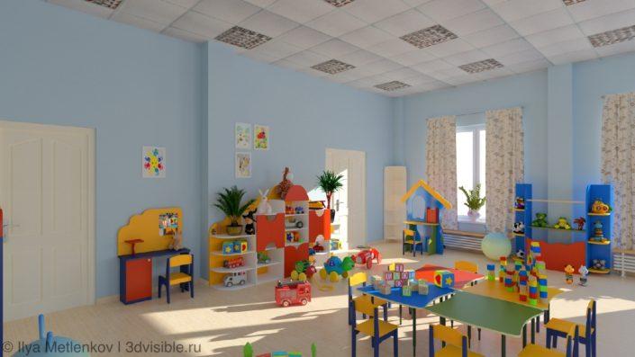 Игровая в детском саде
