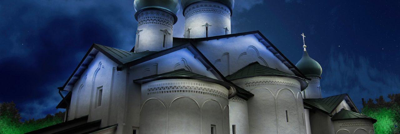 Церковь Богоявления Господня с Запсковья города Пскова