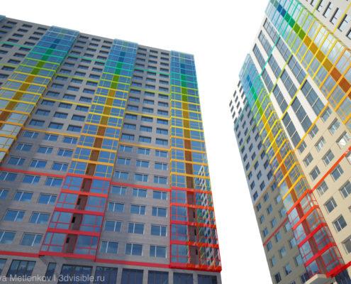 3D визуализация жилого комплекса Хорошовка
